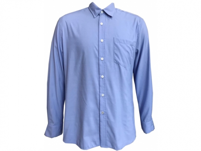 20-MY013F Suit Shirt Series (Man) front -blue