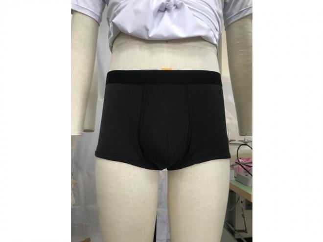 20-MU001F Underpants Series (Man) front2-black