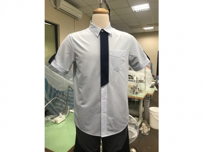 MS1907-01F Suit Shirt Series (Man) front