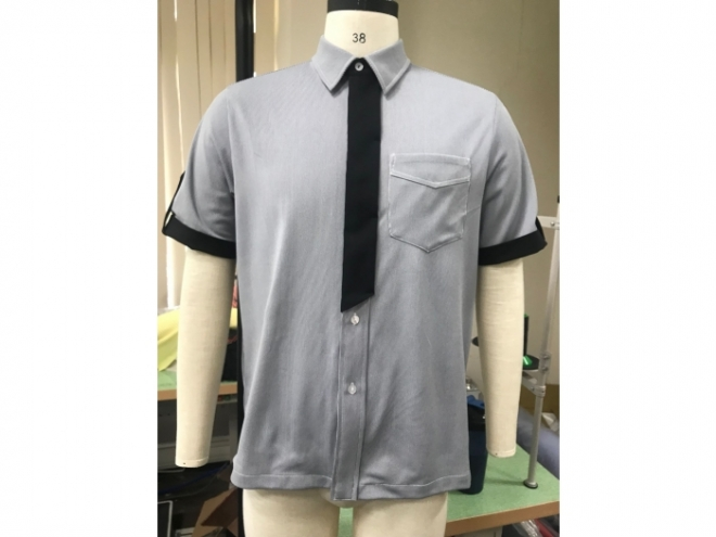 MS1907-02F Suit Shirt Series (Man) front