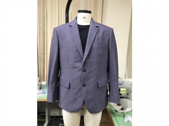 MS1907-03F Suit Blazer Series (Man) front