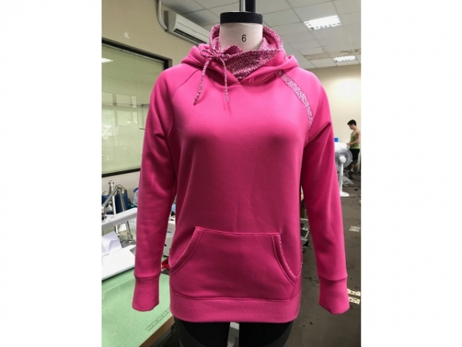 WH1907-01F Hoodie Series (Woman) front