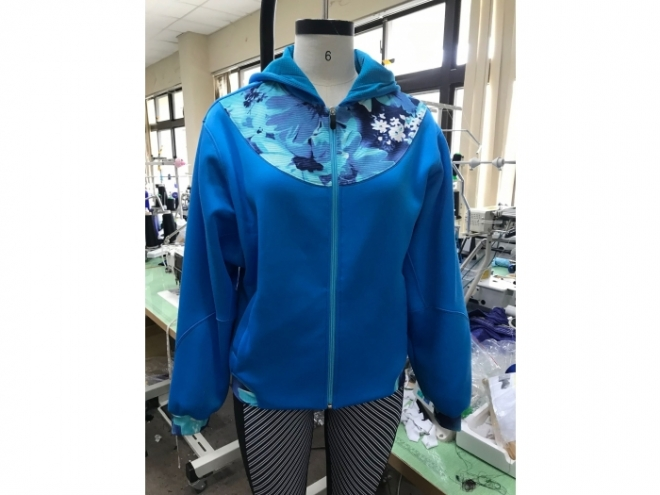 WH1907-02F Hoodie Series (Woman) front
