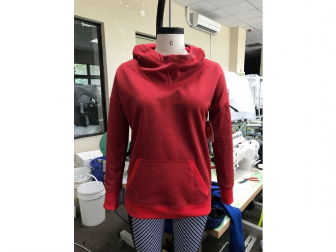 WH1907-04F Hoodie Series (Woman) front
