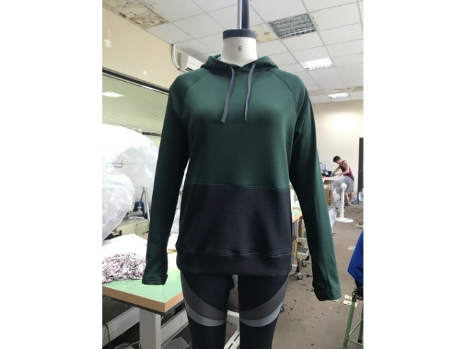 WH1907-05F Hoodie Series (Woman) front