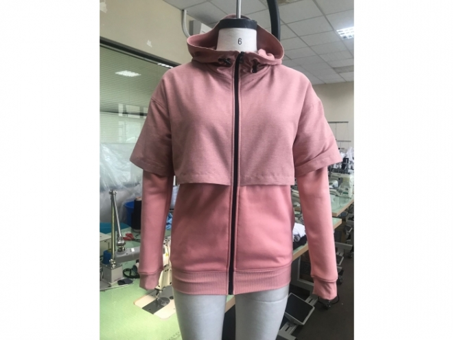 WH1907-10F Hoodie Series (Woman) front