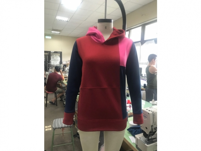 WH1907-11F Hoodie Series (Woman) front