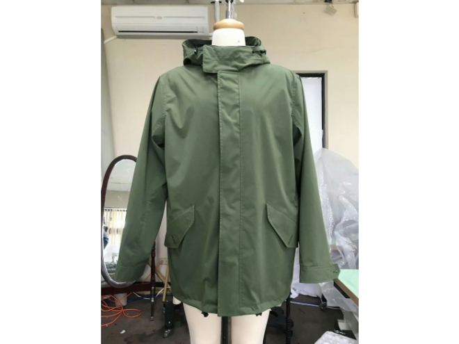 MWF1807-02F Waterproof Film Coat Series (Man) front