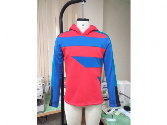 20-MH0119F Hoodie Color Matching Series (Man) front