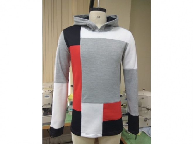 20-MH0121F Hoodie Color Matching Series (Man) front