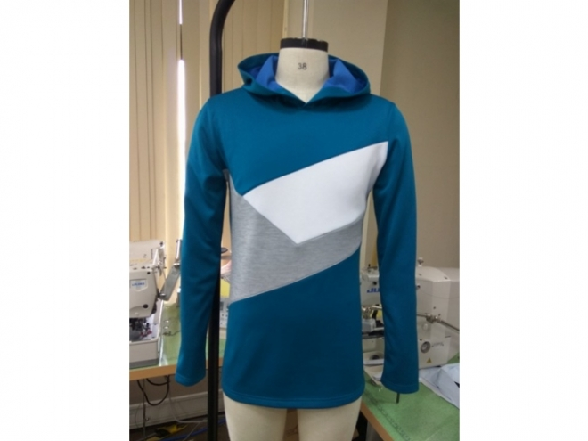 20-MH0122F Hoodie Color Matching Series (Man) front