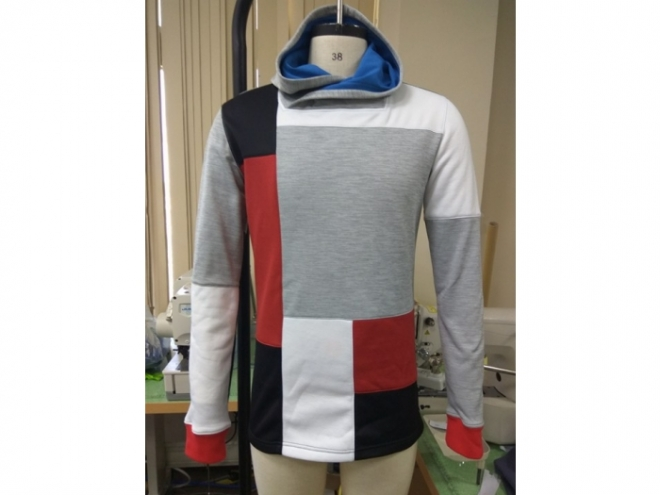 20-MH0123F Hoodie Color Matching Series (Man) front