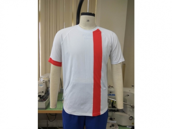 20-MT0101F Casual Wear Color Matching T-shirt Series (Man) front
