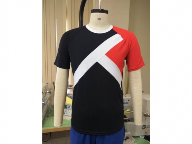 20-MT0102F Casual Wear Color Matching T-shirt Series (Man) front