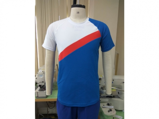 20-MT0103F Casual Wear Color Matching T-shirt Series (Man) front