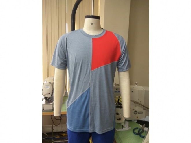 20-MT0104F Casual Wear Color Matching T-shirt Series (Man) front