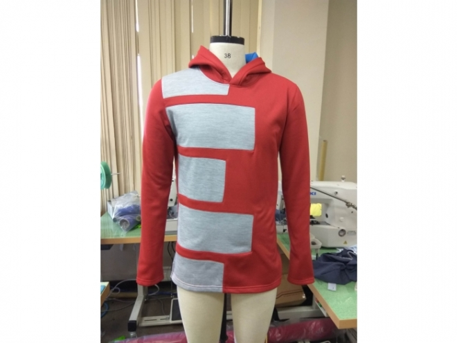 20-MH0124F Hoodie Color Matching Series (Man) front