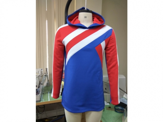 20-MH0125F Hoodie Color Matching Series (Man) front