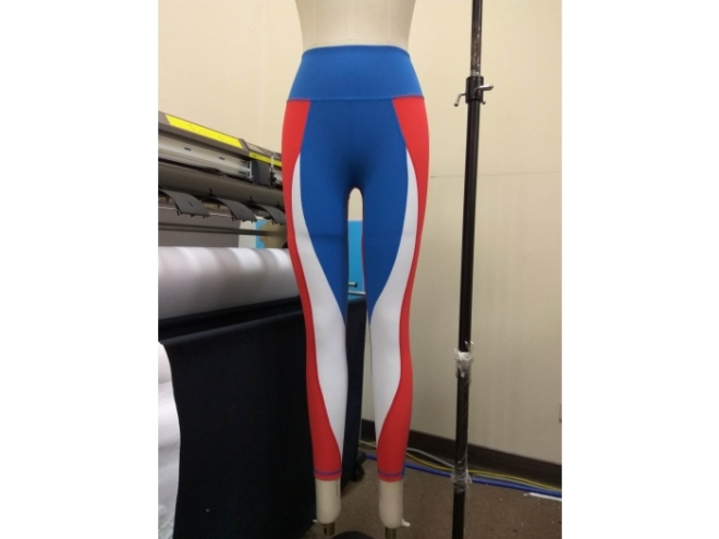 1801-PB001-13F Body Shaping Color Matching Pants Series (Woman) front