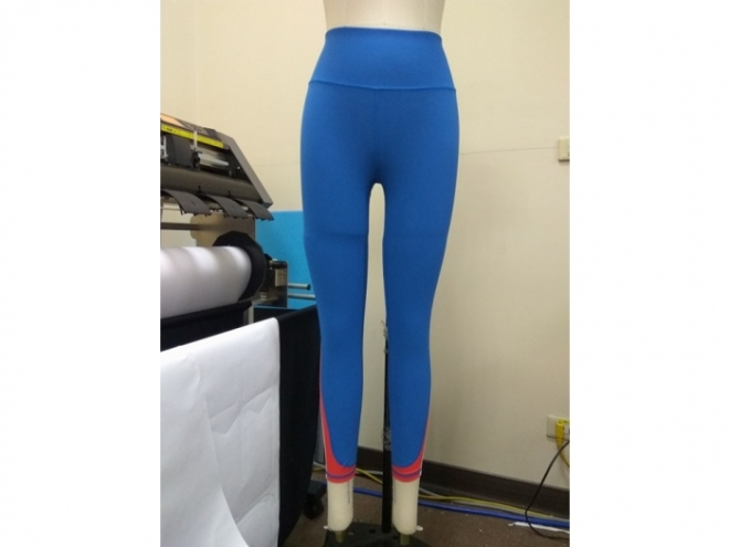 1801-PB001-15F Body Shaping Color Matching Pants Series (Woman) front