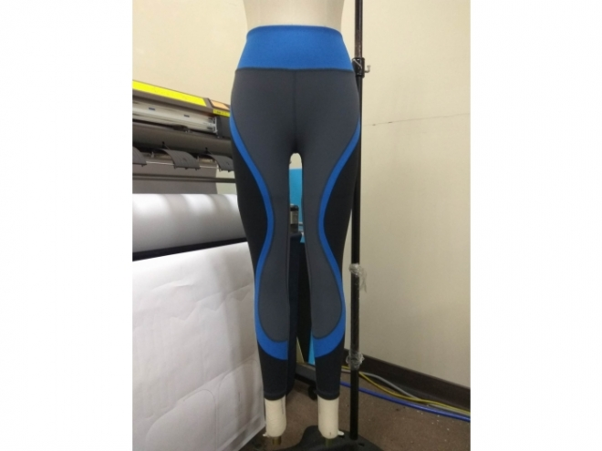 1801-PB001-16F Body Shaping Color Matching Pants Series (Woman) front