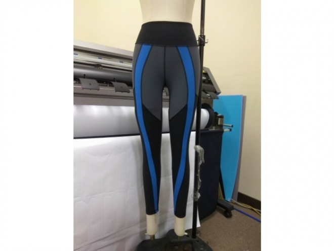 1801-PB001-21F Body Shaping Color Matching Pants Series (Woman) front