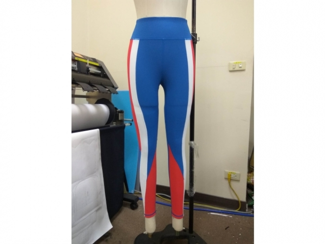 1801-PB001-23F Body Shaping Color Matching Pants Series (Woman) front